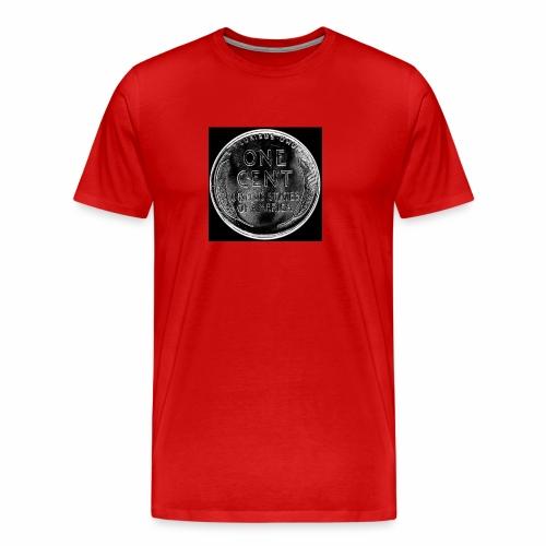 wheat back - Men's Premium T-Shirt