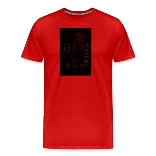 Death is here mercy hacked by: Lildeadpool2X - Men's Premium T-Shirt