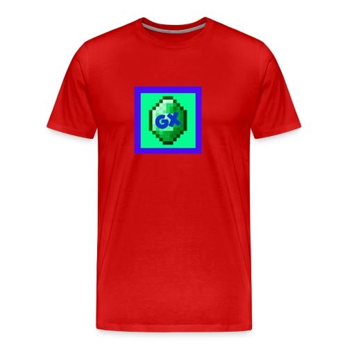 Glarexo Logo - Men's Premium T-Shirt