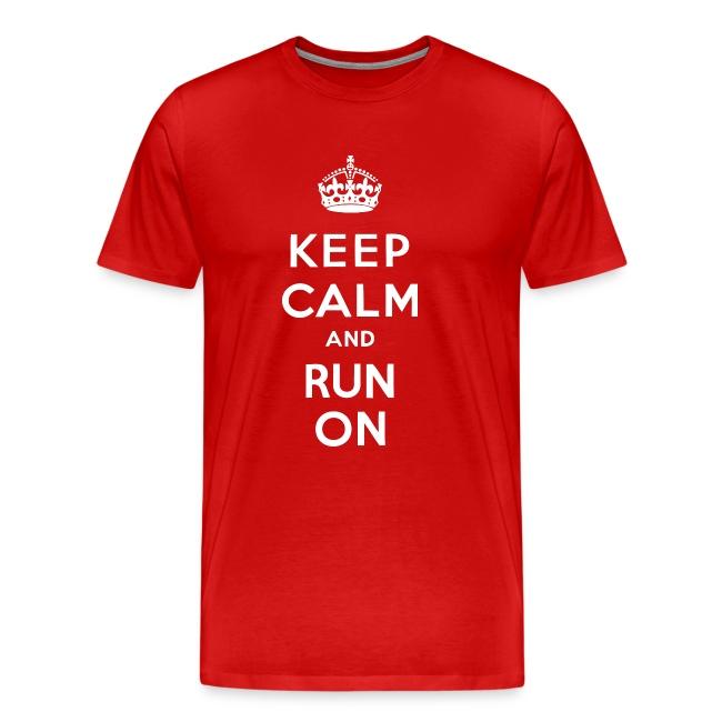 KEEP CALM RUN ON