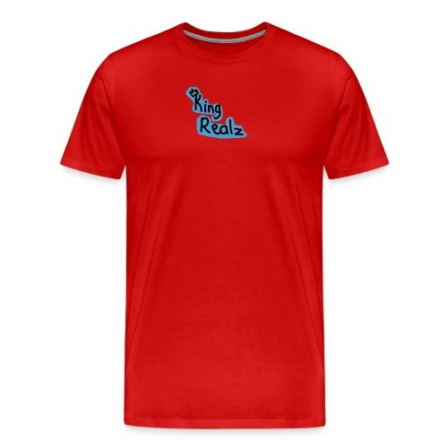 KingRealzMerch[TEXT] - Men's Premium T-Shirt