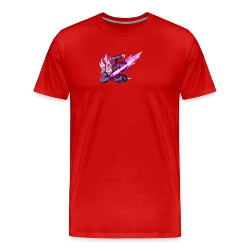 black goku ssj rose - Men's Premium T-Shirt