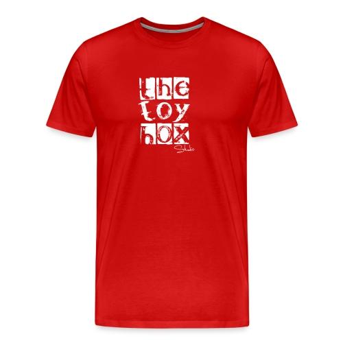 The Toy box Studio - White Logo - Men's Premium T-Shirt