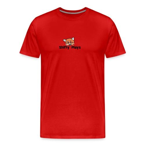 Shifty: Red Panda Tee Male - Men's Premium T-Shirt