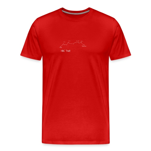 HBC Trail Elevation - Men's Premium T-Shirt
