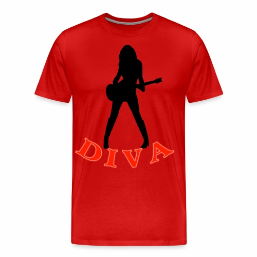 Rock Star Diva - Men's Premium T-Shirt