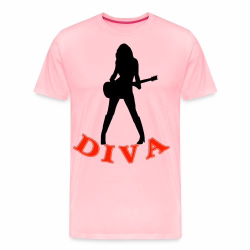 Rock Star Diva - Men's Premium T-Shirt
