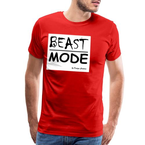 MODE, BEAST-BLACK - Men's Premium T-Shirt