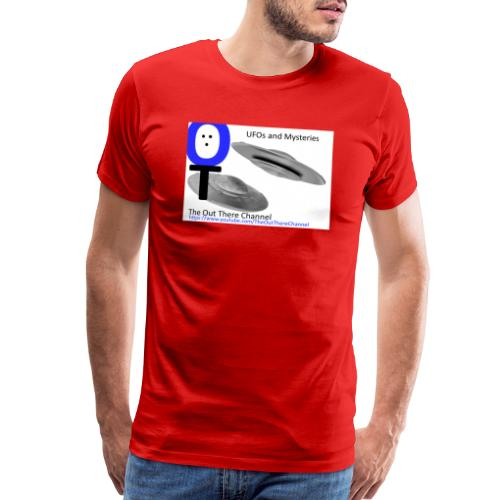 Outthere UtubeLogo2017 with Crew Back Logo - Men's Premium T-Shirt