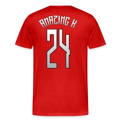 AmazingK #24 Home/Away/Alternate Jersey - Men's Premium T-Shirt