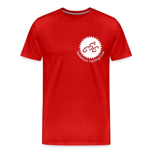 Saskatoon Cycling Club White - Men's Premium T-Shirt