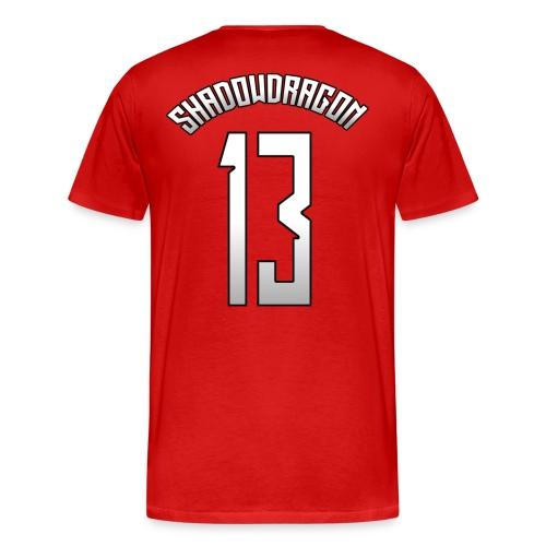 ShadowDragon #13 Home/Away/Alternate Jersey - Men's Premium T-Shirt