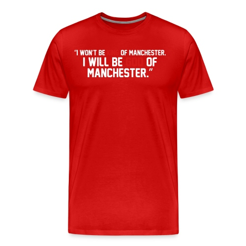 Zlatan Ibrahimovic - God of Manchester - Men's Premium T-Shirt