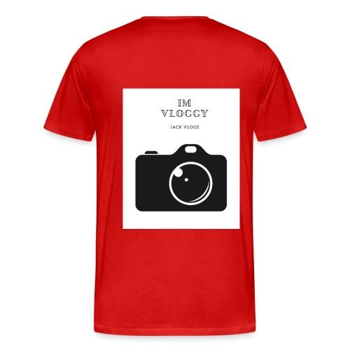 jackvlogs im vloggy - Men's Premium T-Shirt