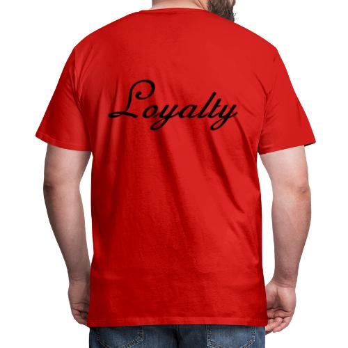 Loyalty Brand Items - Black Color - Men's Premium T-Shirt