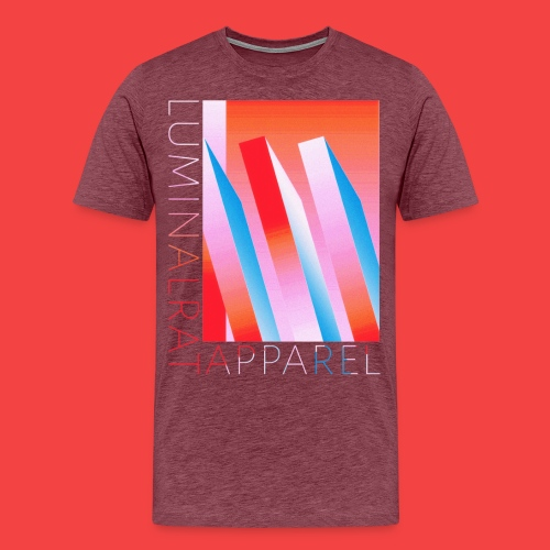 Retro bar graph - Men's Premium T-Shirt