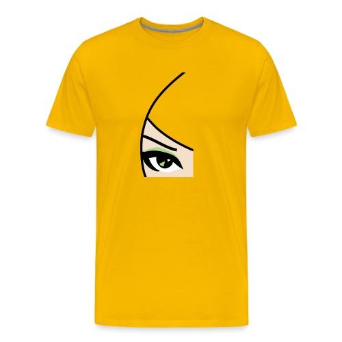 Banzai Chicks Single Eye Women's T-shirt - Men's Premium T-Shirt