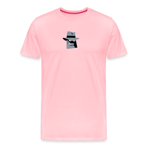 Robot Gangster 2 Color - Men's Premium T-Shirt