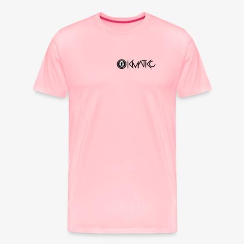 KMATiKC Logo Noir - Men's Premium T-Shirt