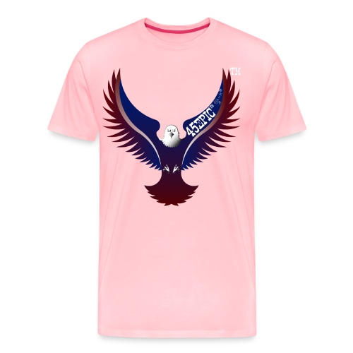 45EPIC EAGLE dx4/dt=ic Elliot McGucken Fine Art - Men's Premium T-Shirt