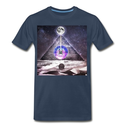 Egyptian Moon - Men's Premium T-Shirt