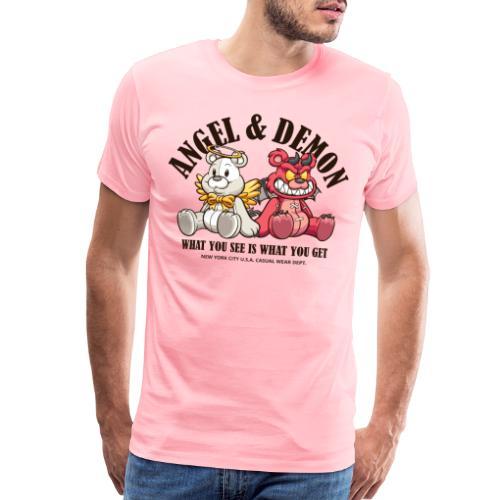 angel and demon - Men's Premium T-Shirt