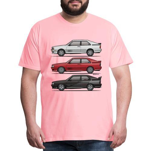 Four rings b2 urqu4ttro t - Men's Premium T-Shirt
