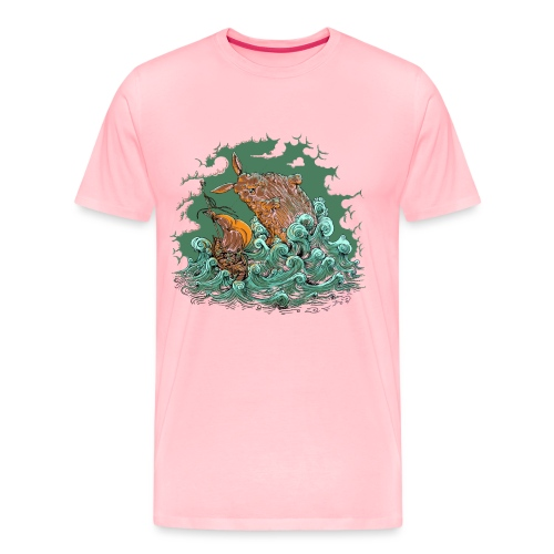 Sea Bunny Attack - Men's Premium T-Shirt
