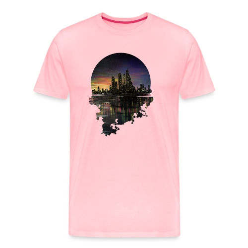 City Lights - Men's Premium T-Shirt