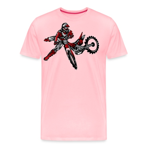 Freestyle Dirt Biker - Men's Premium T-Shirt