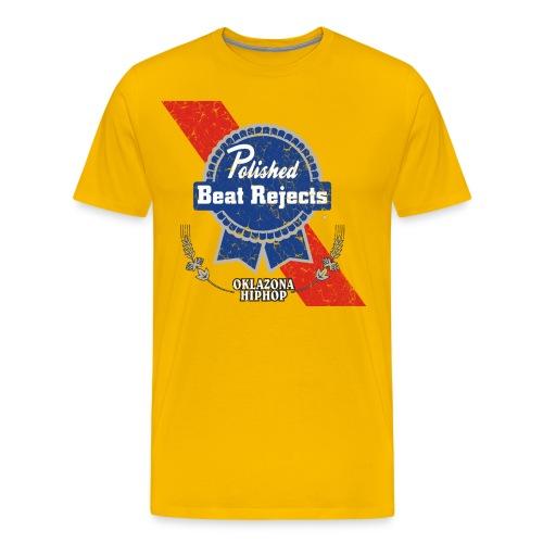 pbrteedistressed - Men's Premium T-Shirt