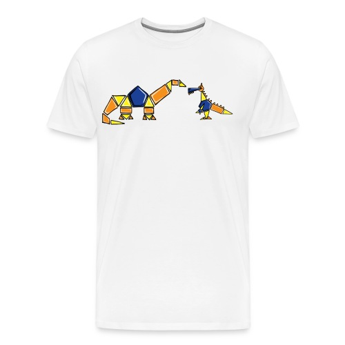Dinoblocks - Men's Premium T-Shirt