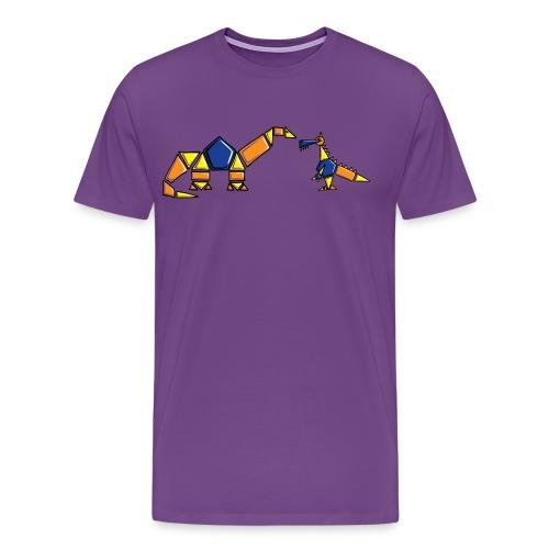 Dinoblocks - Men's Premium T-Shirt