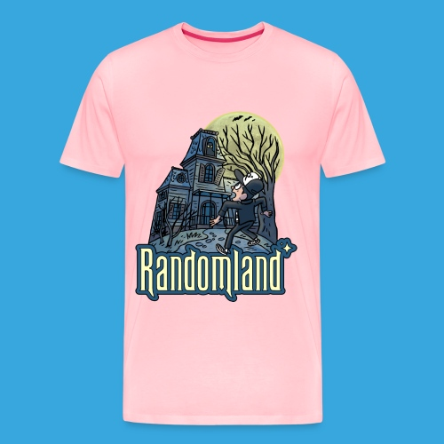Randomland Haunted House - Men's Premium T-Shirt
