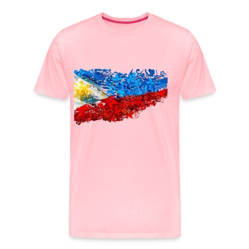 flower flag NO BLACK png - Men's Premium T-Shirt