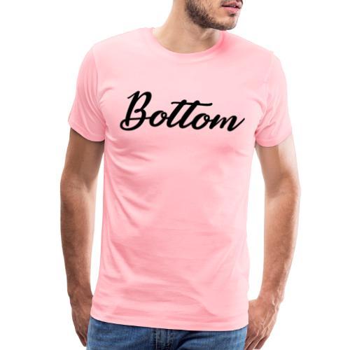 Bottom one sided - Men's Premium T-Shirt