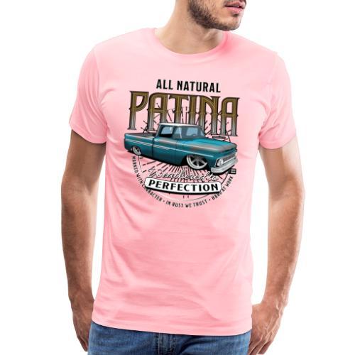 AllNatural BLUE4000 - Men's Premium T-Shirt