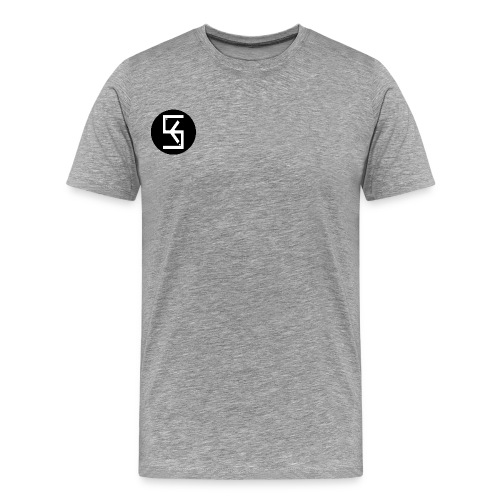 BlackWhite Soft kore Logo - Men's Premium T-Shirt
