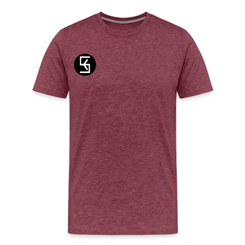 BlackWhite Soft kore Logo - Men's Premium T-Shirt