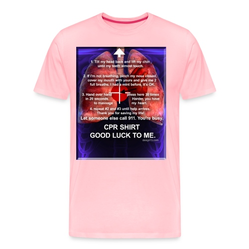CPR SHIRT 3 - Men's Premium T-Shirt