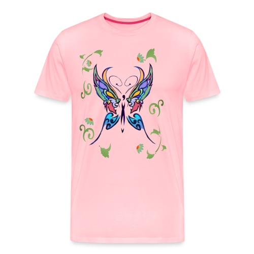 Bright Butterfly - Men's Premium T-Shirt