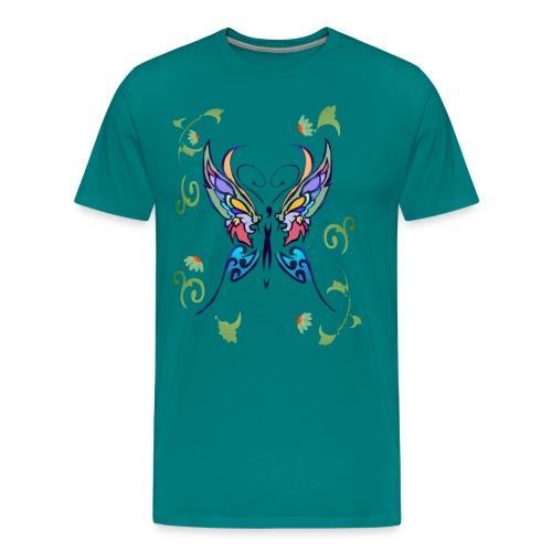 Bright Butterfly - Men's Premium T-Shirt
