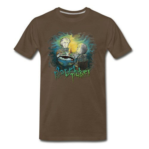 planet poker - Men's Premium T-Shirt