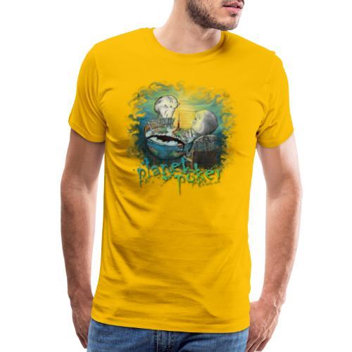 planet poker - Men's Premium T-Shirt