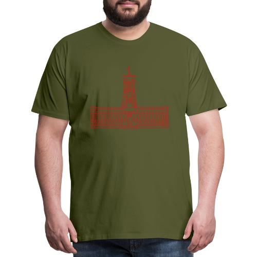 Red City Hall Berlin - Men's Premium T-Shirt