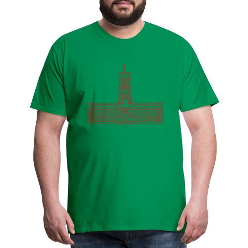 Red City Hall Berlin - Men's Premium T-Shirt