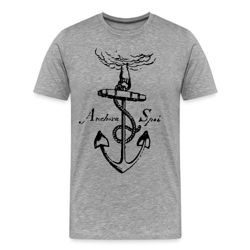 vintage anchor - Men's Premium T-Shirt