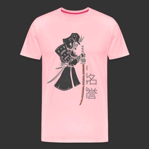 Samurai (Digital Print) - Men's Premium T-Shirt
