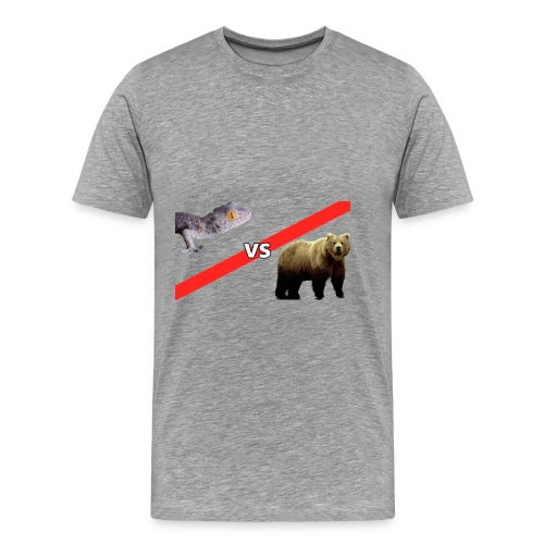 Gecko VS Bear - Kids - Men's Premium T-Shirt