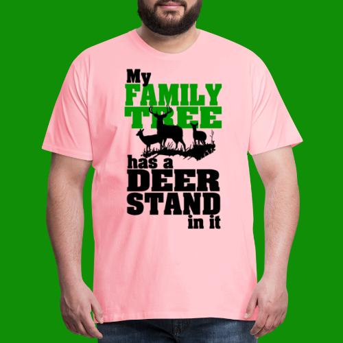 Deer Stand Family Tree - Men's Premium T-Shirt